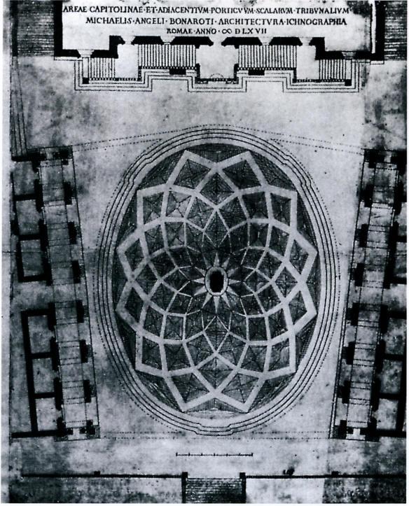 Pianta Della Piazza Del Campidoglio