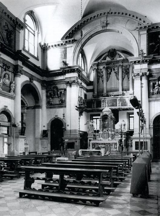 Una osservazione sul restauro degli interni delle chiese a venezia filippa aliberti gaudioso - Elementi architettonici di una chiesa ...