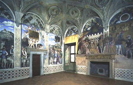 Andrea mantegna giuliano confalonieri for Camera degli sposi palazzo ducale