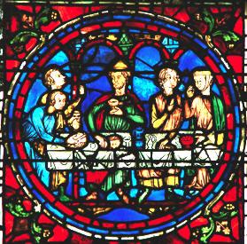 Vetrate gotiche giuliano confalonieri - Finestre circolari delle chiese gotiche ...