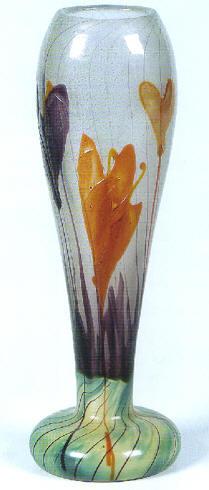 Emile gall vaso in vetro marqueterie 1890 1900 for Vaso galle